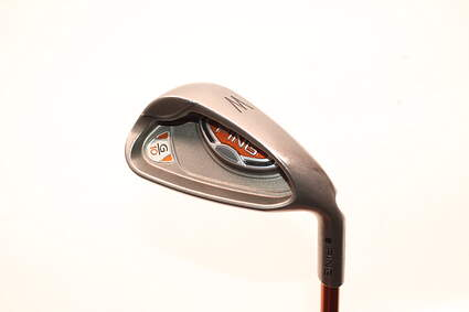 Ping G10 Single Iron Pitching Wedge PW Ping TFC 129I Graphite Regular Right Handed Black Dot 35.5in