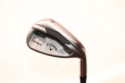 Callaway Apex Single Iron Pitching Wedge PW FST KBS Tour C-Taper Steel Stiff Right Handed 35.5in