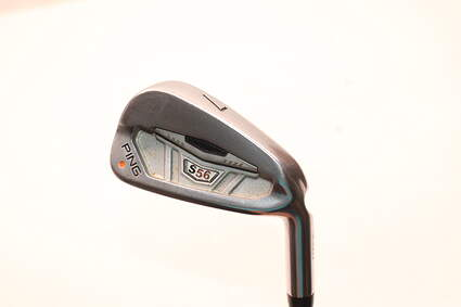 Ping S56 Single Iron 7 Iron Dynamic Gold Tour Issue X100 Steel X-Stiff Right Handed Orange Dot 36.75in