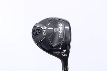 Ping Anser Fairway Wood 3 Wood 3W 14.5° Ping TFC 80F Graphite Senior Right Handed 42.5in