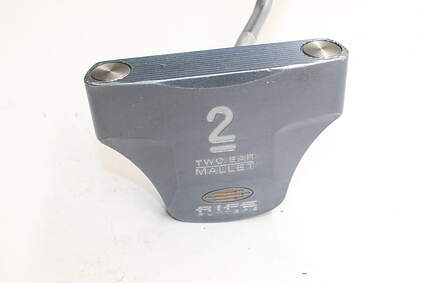 Guerin Rife Two Bar Mallet Offset Putter Steel Right Handed 40.0in