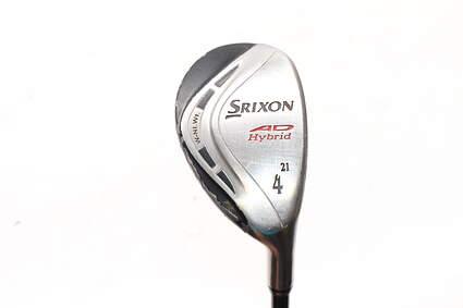 Srixon AD Hybrid 4 Hybrid 21° Stock Graphite Shaft Graphite Stiff Right Handed 40.25in