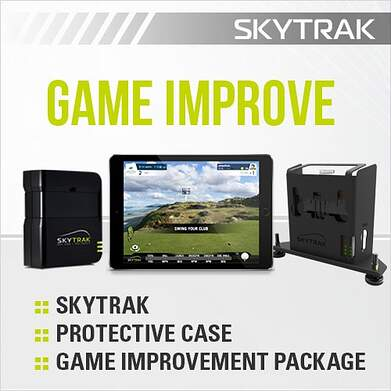 SkyTrak Game Improvement Plan Launch Monitor