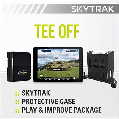 SkyTrak Tee Off Package Launch Monitor