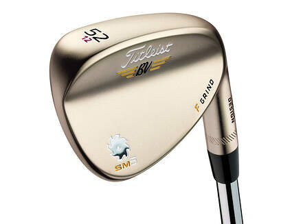 Titleist Vokey SM5 Gold Nickel Wedge