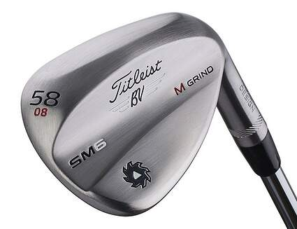 Titleist Vokey SM6 Raw Limited Edition Wedge