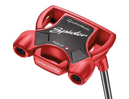 TaylorMade Spider Tour Red & Black Putters