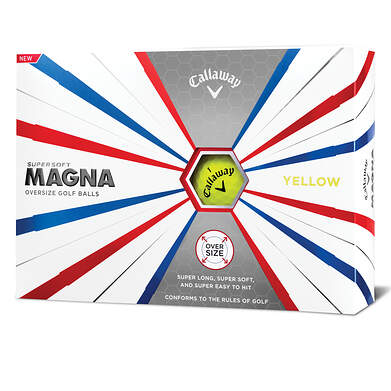 Callaway Supersoft Magna 19 Yellow Golf Balls
