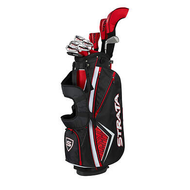 Callaway Strata Plus 14 Piece Mens Complete Golf Club Set
