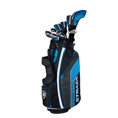 Callaway Strata Ultimate 16 Piece Mens Complete Golf Club Set