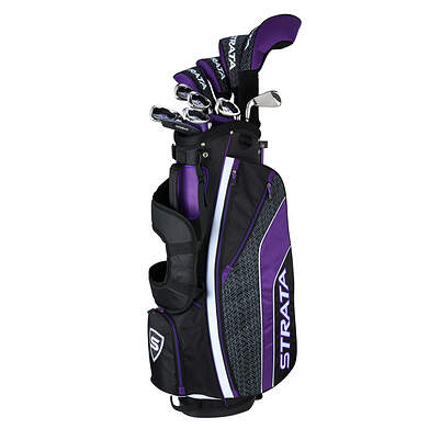 Callaway Strata Ultimate 16 Piece Women Complete Golf Club Set