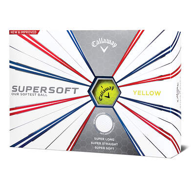 Callaway Supersoft 19 Yellow Golf Balls