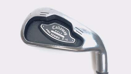 Callaway X-16 Pro Series Single Iron 4 Iron Stock Steel Shaft Steel Stiff Right Handed 38.5 in