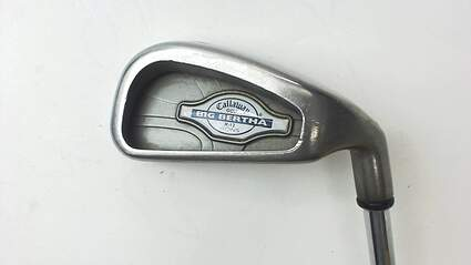 Callaway X-12 Single Iron 4 Iron Stock Steel Shaft Steel Uniflex Right Handed 38.5 in