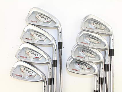 Ping Anser Forged 2010 Iron Set 3-PW Project X 5.5 Steel Stiff Right Handed 36.75 in