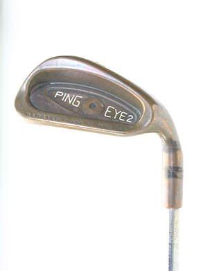 Ping Eye 2 + Beryllium Copper Iron Set 3-PW True Temper TT Lite XL Steel Regular Right Handed Red dot 38 in