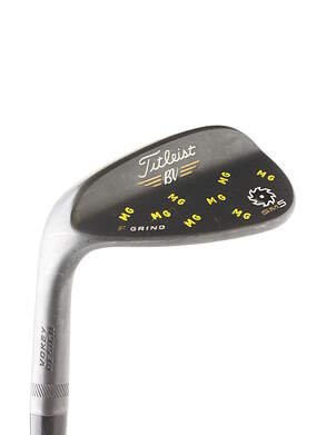 Titleist Vokey SM5 Raw Black Wedge Gap GW 50* 8 Deg Bounce Steel Wedge Flex Left Handed 35.5 in