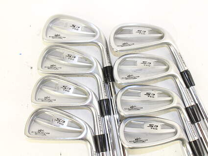 Cobra S3 Pro Forged CB Iron Set 3-PW True Temper Dynamic Gold S300 Steel Stiff Right Handed 38 in