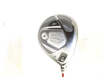 Titleist 910 F Fairway Wood 7 Wood 7W 21* Stock Graphite Shaft Graphite Ladies Right Handed 40.5 in