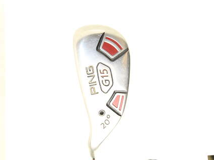 Ping G15 Hybrid 3 Hybrid 20* Stock Graphite Shaft Graphite Stiff Left Handed 40 in