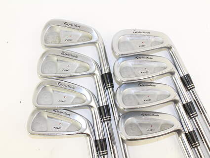 TaylorMade Rac Forged CB TP Iron Set 3-PW True Temper Dynamic Gold S300 Steel Stiff Right Handed 38 in