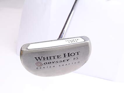 Odyssey White Hot 5 Center Shaft Putter Stock Steel Shaft Steel Right Handed 35 in