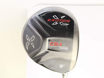 Tour Edge Exotics CB4 Tour Driver 9* Aldila RIP Sigma 60 Graphite Stiff Right Handed 46 in