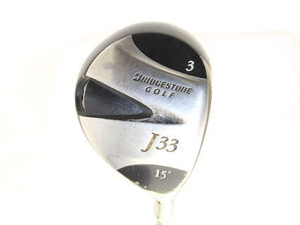 Bridgestone J33 Fairway Wood 3 Wood 3W 15* Aldila NV 75 Graphite X-Stiff Right Handed 43 in