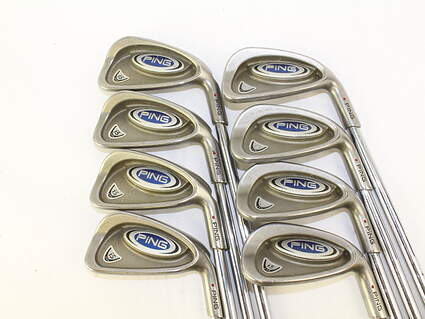 Ping i5 Iron Set 3-PW Stock Steel Shaft Steel Right Handed 38 in