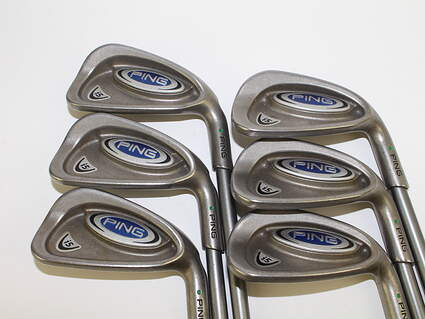 Ping i5 Iron Set 5-PW Stock Graphite Shaft Graphite Senior Right Handed Green Dot 38.5 in