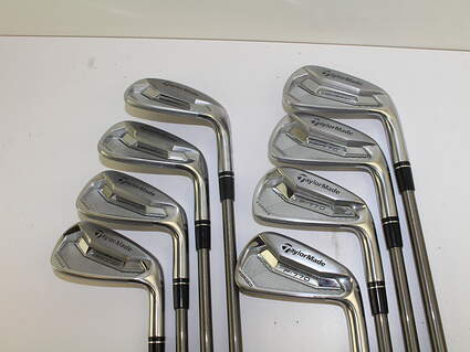 TaylorMade P770 Iron Set 4-PW GW Aerotech SteelFiber i95 Graphite Stiff Right Handed 38 in