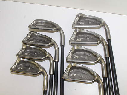 Tour Issue Ping ISI Iron Set 3-PW Stock Graphite Shaft Graphite Stiff Right Handed 38 in