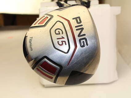 Ping G15 Driver 9* Stock Graphite Shaft Graphite Stiff Left Handed 45.75 in