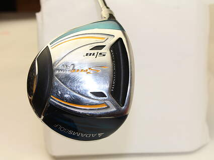 Adams Speedline F11 Titanium Fairway Wood 5 Wood 5W 18* Aldila VooDoo RVS7 Graphite Stiff Left Handed 41 in