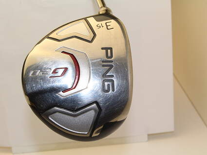 Ping G20 Fairway Wood 3 Wood 3W 15* Ping TFC 169F Graphite Stiff Left Handed 43 in