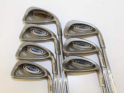 Ping i5 Iron Set 4-PW Nippon NS Pro Modus 3 Tour 120 Steel Stiff Right Handed White Dot