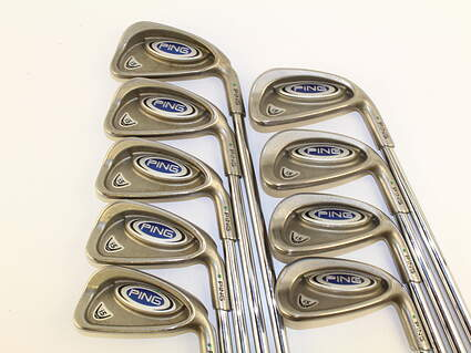 Ping i5 Iron Set 2-PW Stock Steel Shaft Steel Stiff Right Handed 38 in