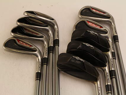 Adams Idea A3 OS Iron Set 4-PW GW SW Stock Graphite Shaft Graphite Regular Right Handed 38.5 in