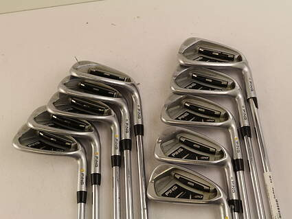 Ping I20 Iron Set 4-PW GW SW Ping TFC 169I Steel Stiff Right Handed White Dot 38 in