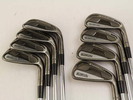 Adams Idea Pro A12 Iron Set 4-GW Stock Steel Shaft Steel Stiff Right Handed 38 in