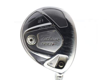 Titleist 910 F Fairway Wood 5 Wood 5W 21* Mitsubishi Bassara V63 Graphite Ladies Right Handed 40.5 in