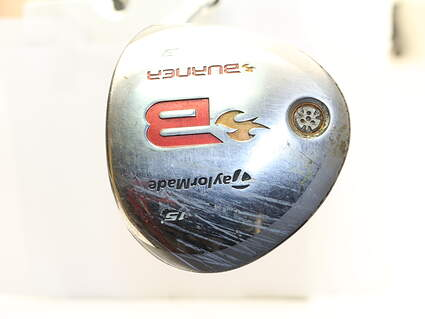 TaylorMade 2008 Burner Fairway Wood 3 Wood 3W 15* Stock Graphite Shaft Graphite Regular Right Handed 42 in