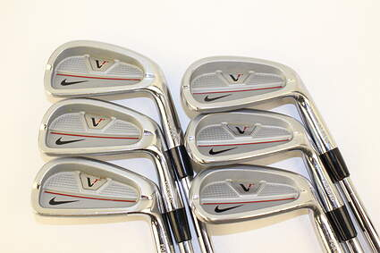 Nike Forged Split Cavity Iron Set 5-PW Stock Steel Shaft Steel Stiff Right Handed 38 in