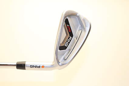 Ping I25 Single Iron 6 Iron Ping CFS Steel Stiff Right Handed Orange Dot 37.25 in