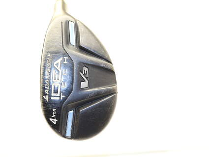 Adams Idea Tech V3 Hybrid 4 Hybrid Adams Mitsubishi Rayon Bassara Graphite Ladies Right Handed 39.25 in