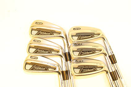 Titleist 710 AP2 Iron Set 5-PW Stock Steel Shaft Steel Right Handed 37.5 in
