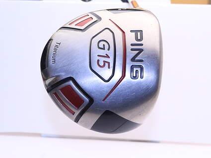 Ping G15 Driver 10.5* Stock Graphite Shaft Graphite Regular Left Handed 45.5 in