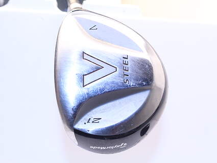 TaylorMade V Steel 7 Wood 7W 21° TM M.A.S.2 Graphite Ladies Right Handed 41.0in