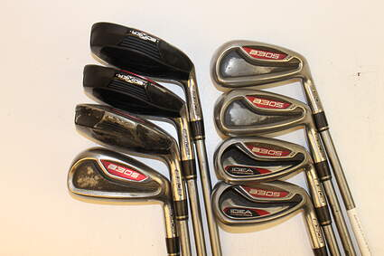 Adams Idea A3 OS Iron Set 3H 4H 5H 6-PW Grafalloy ProLaunch Platinum Graphite Regular Right Handed 42.0in