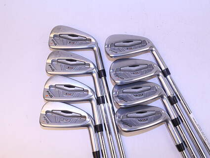 Ping S56 Iron Set 3-PW True Temper Dynamic Gold S300 Steel Stiff Right Handed Orange Dot 38.0in